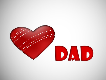 Fathers Day background. Illustration