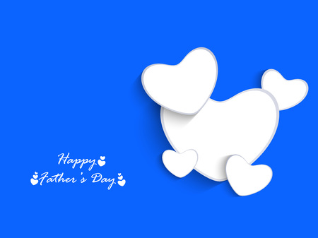 Fathers Day Background Illustration