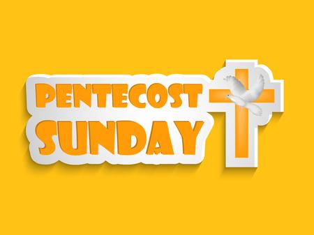 Pentecost Sunday background