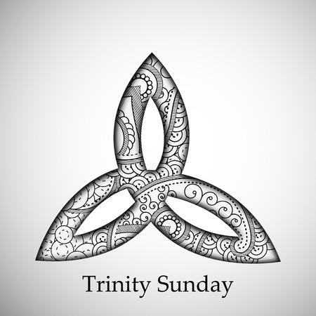 Trinity Sunday Fondos Ilustración de vector