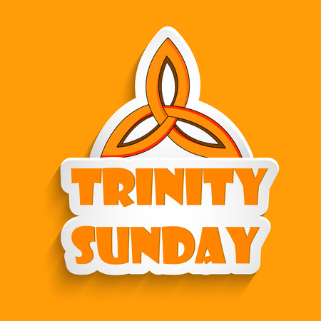 Trinity Sunday Background Illustration