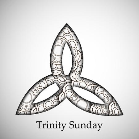 Trinity Sunday Background Illustration