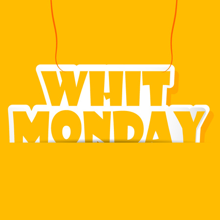 Whit Monday background
