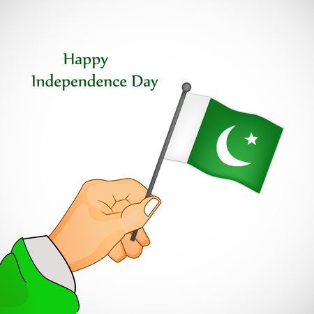 6th: illustration of Pakistan Independence Day background Illustration