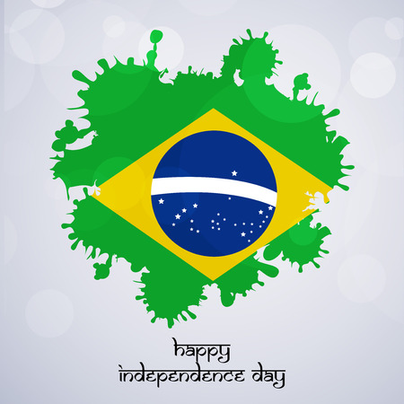 Brazil Independence Day background Illustration