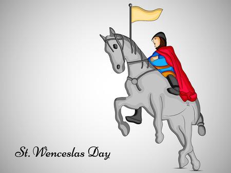 Czech Republic  Saint Wenceslaus day background