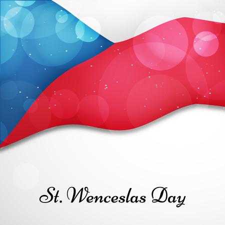 st: Czech Republic  Saint Wenceslaus day background