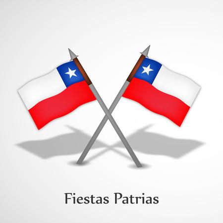 Chile Fiestas Patrias background