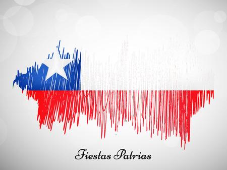 칠레 피에스타 아뜨리에 배경 스톡 콘텐츠 - 82583199