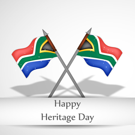 illustration of elements of heritage day background Ilustrace