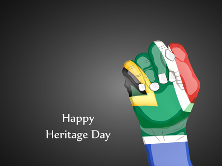 illustration of elements of heritage day background Illustration