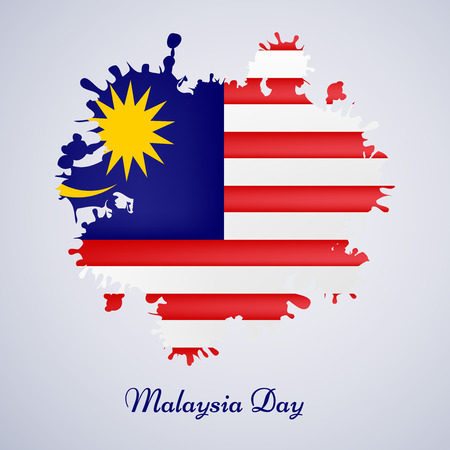 illustration of elements of Malaysia Day Background Stock Vector - 83759869