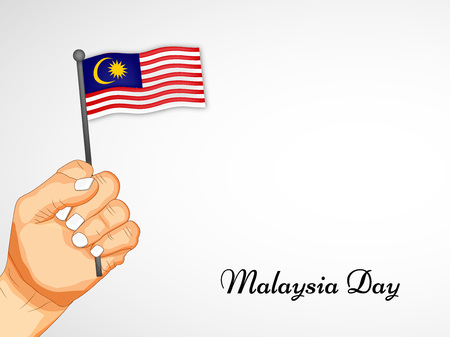 illustration of elements of Malaysia Day Background Stock Vector - 83924072