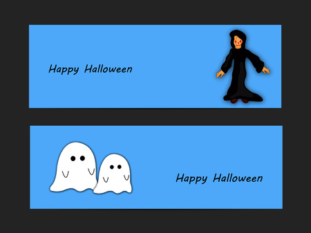 all saints day: illustration of elements of Halloween Background