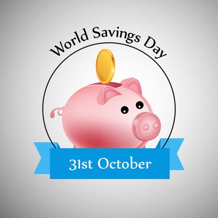 illustration of elements of World Saving Day Background Illustration