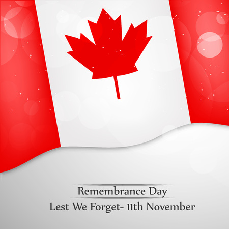 Illustration of elements of Remembrance Day background Ilustrace