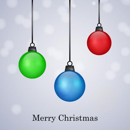 december 25: illustration of elements of Christmas Background