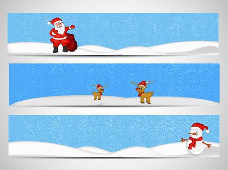 december 25: Christmas banner design.