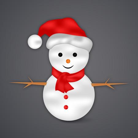 Christmas greeting card design. Illustration