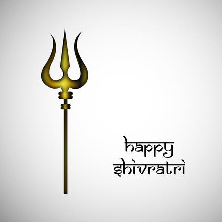 illustration of hindu festival Shivratri background