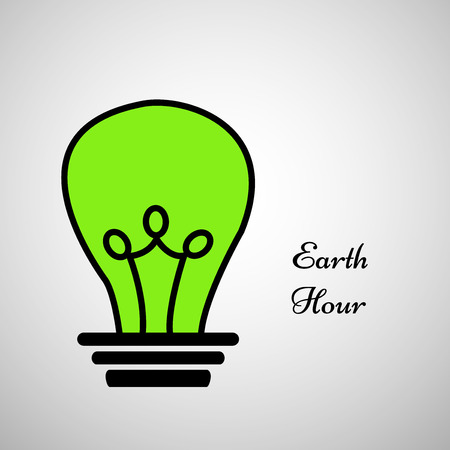 Illustration of background for Earth Hour