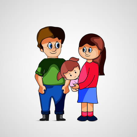 Illustration of background for Family Day