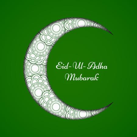 Eid の背景、ベクトル図。