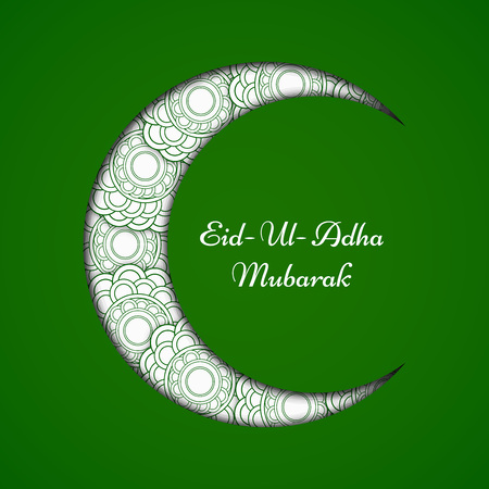 Eid background, vector illustration. 向量圖像