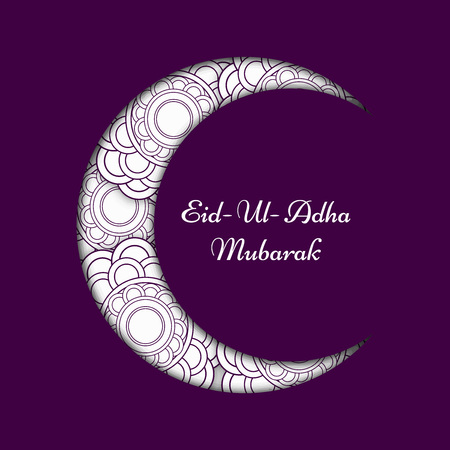 Eid background, vector illustration.