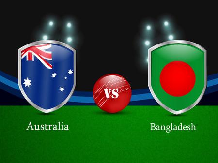 vs: Cricket background