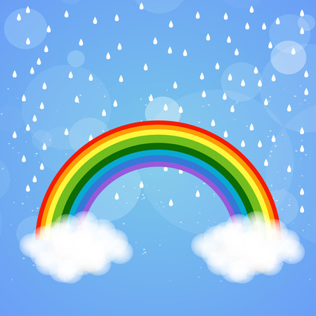 drops of water: Monsoon season background Illustration