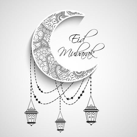 Eid Background 矢量图像