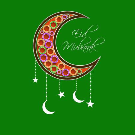 Eid Background Illustration