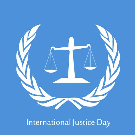 International Justice Day background