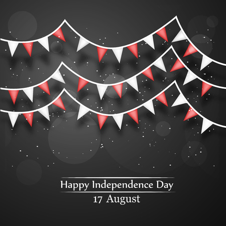 Indonesia Independence Dy background Illustration