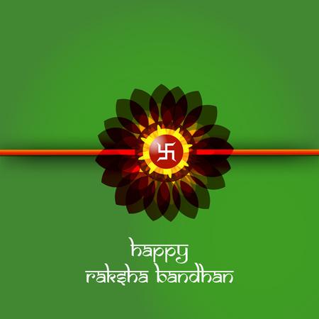 Illustration of elements of Hindu Festival Raksha Bandhan Background Illustration