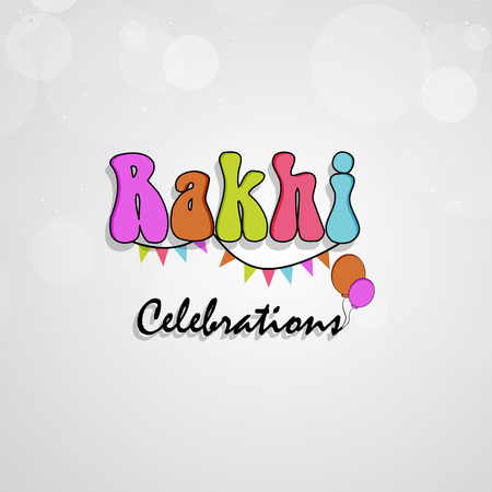 Illustration of elements of Hindu Festival Raksha Bandhan Background Illustration