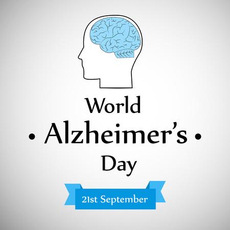 illustration of World Alzheimers Day Background Illustration