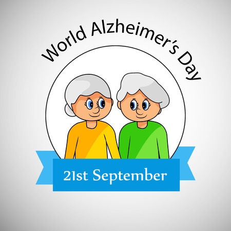 illustration of World Alzheimers Day Background Illustration