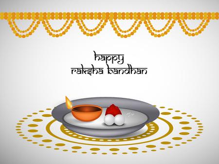 best protection: Illustration of rakhi for the occasion of Indian festival raksha bandhan Illustration