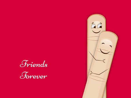 Friendship day background