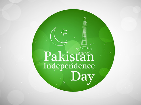 6th: Pakistan Independence Day background Illustration