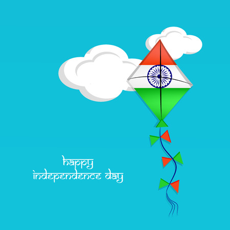 |An illustration of elements of India Independence Day Background.