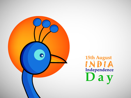 illustration of elements of India Independence Day background