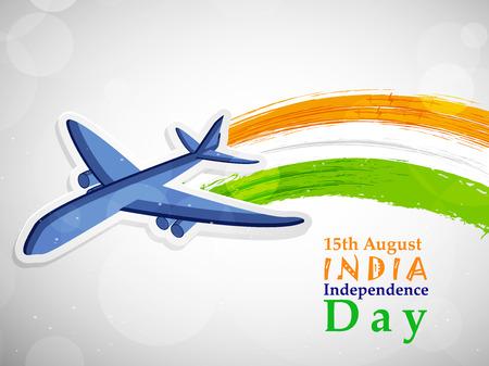 illustration of elements of India Independence Day background