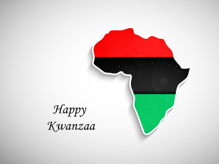 kwanzaa: An illustration of elements of Kwanzaa Background. Kwanzaa is a week long celebration held in the United States to honor universal African heritage and culture Illustration