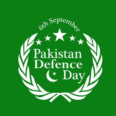 illustration of elements of Pakistan Defence Day Background Illustration