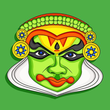 남부 인도 축제 오남 배경 요소의 그림 일러스트