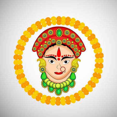 Hindu festival illustration. Illustration