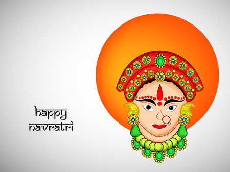 Hindu festival illustration. Illustration